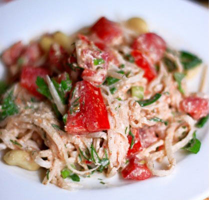 Спагетти из дайкона