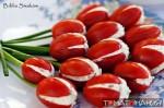 Тюльпаны из томатов