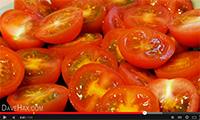 Как быстро и легко нарезать томаты видео