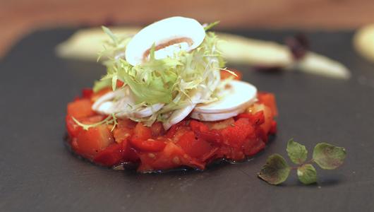 Тар-тар из помидоров рецепт
