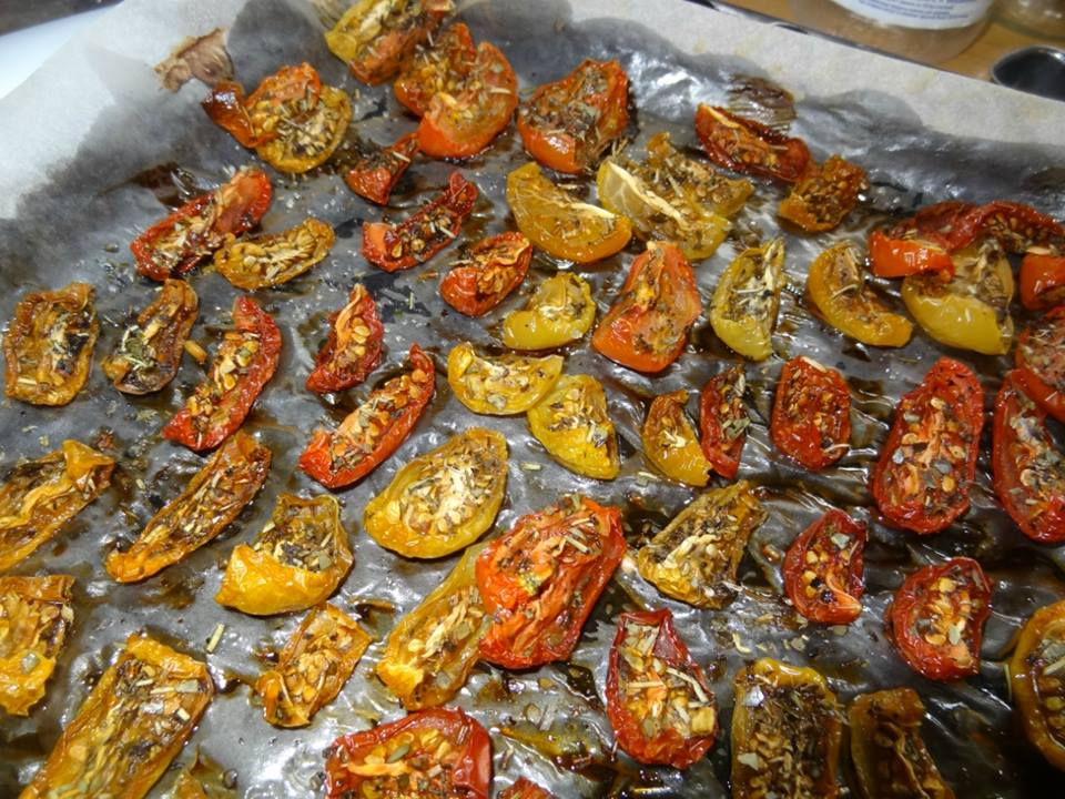 вкусные вяленые томаты