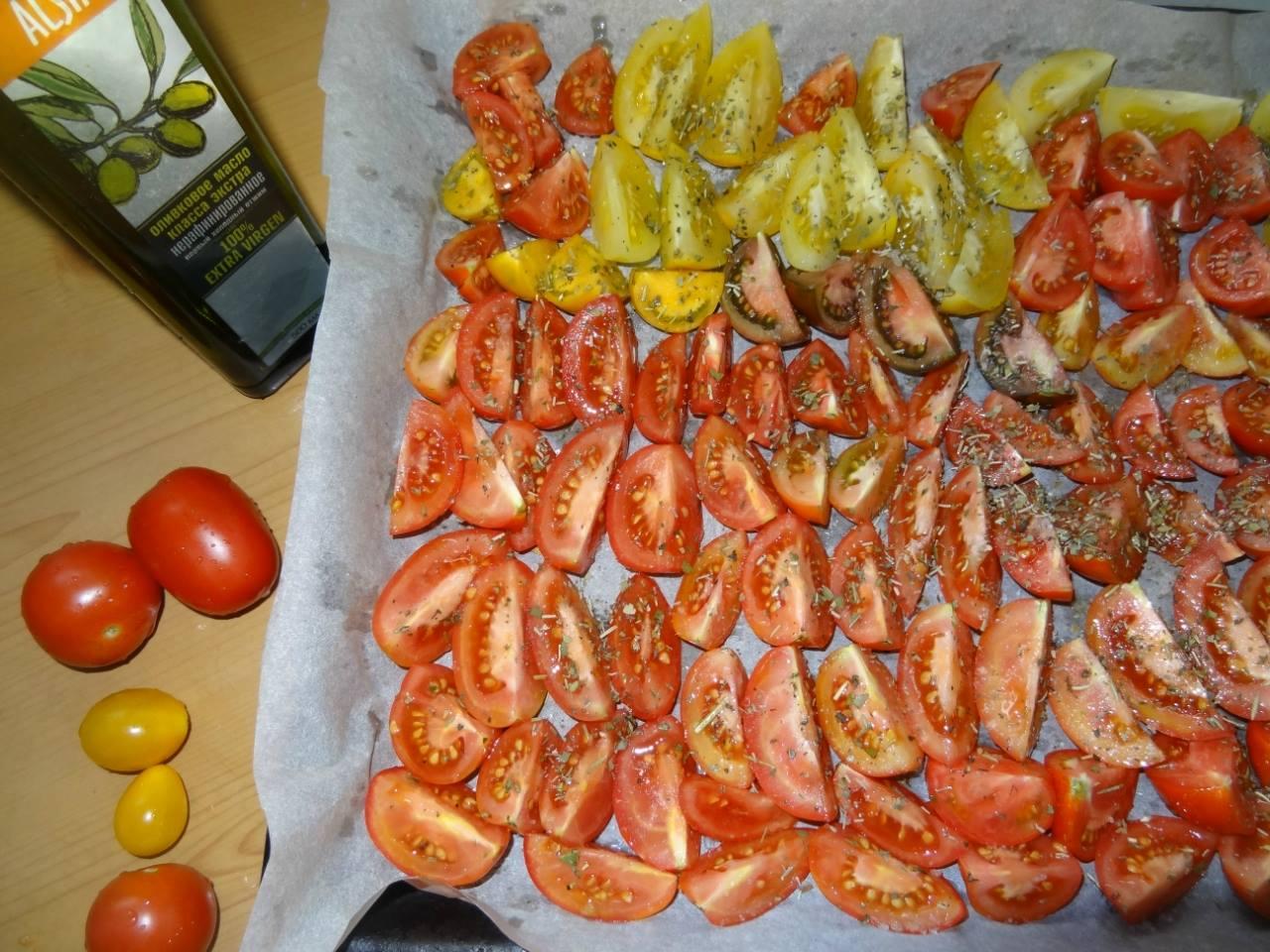 вяленые томаты как приготовить